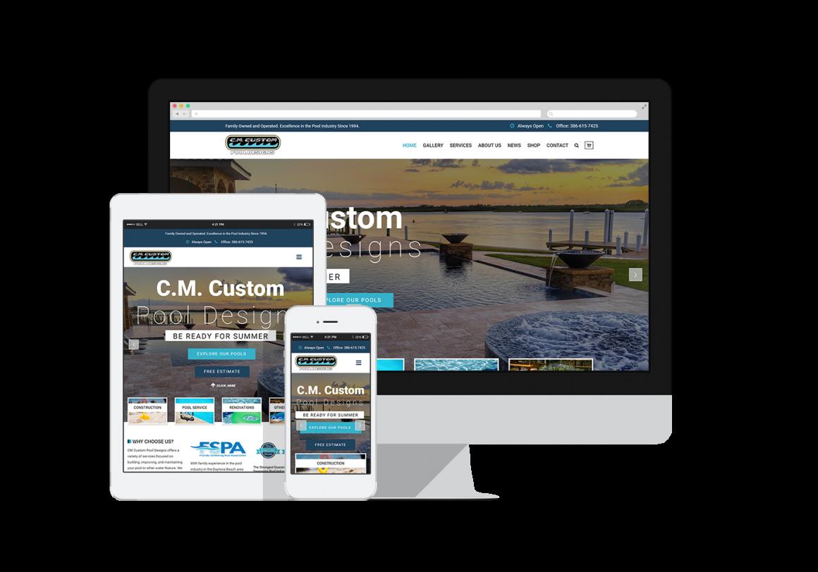 C.M Custom Pool Designs